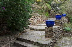Bormes les Mimosas village Stock Image