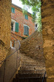 Bormes les Mimosas village, french riviera, france Royalty Free Stock Images