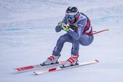 Bormio freeride narciarstwa puchar świata 12/28/2017 Zdjęcie Royalty Free