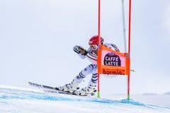 Bormio freeride narciarstwa puchar świata 12/28/2017 Fotografia Royalty Free