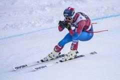 Bormio freeride narciarstwa puchar świata 12/28/2017 Zdjęcia Royalty Free