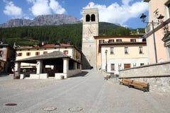 Bormio, Italia Immagini Stock