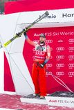 28 December 2017 - Bormio Italy - Audi FIS Ski World Cup Royalty Free Stock Photo
