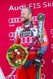 28 December 2017 - Bormio Italy - Audi FIS Ski World Cup. Bormio Italy 12/28/2017: pictures of the freeride ski world championship. The winner was the Italian Stock Photos