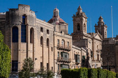 Bormla in Malta. Immaculate Conception, Bormla in island Malta Stock Photography