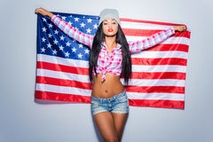 Born in America. Stock Images
