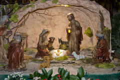 Born Jesus figurines Royalty Free Stock Photo