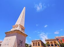 Born Square in Ciutadella on Minorca Royalty Free Stock Image