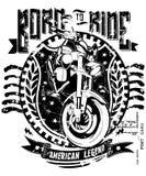 Born to ride Royalty Free Stock Photos