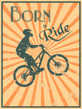 Born to ride Royalty Free Stock Images