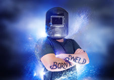 Born To Weld Stock Image