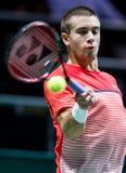 Borna Coric Salowy tenisowy tournement Zdjęcie Stock