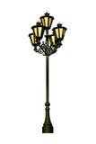 Borne antigo da lâmpada Foto de Stock