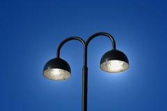 Borne da lâmpada Fotografia de Stock