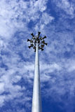 Borne do projector ou da eletricidade com altifalante Imagem de Stock