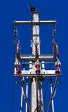 Borne elétrico fotografia de stock