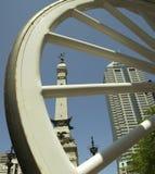 Borne limite d'Indianapolis Photographie stock