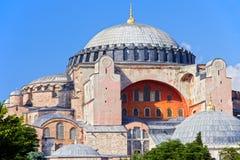 Borne limite de Byzantin d'Ayasofya Photos libres de droits