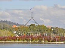 Borne limite de Canberra Photographie stock libre de droits