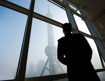 Borne limite de Changhaï Photo stock