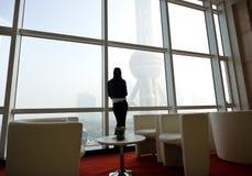 Borne limite de Changhaï Photographie stock
