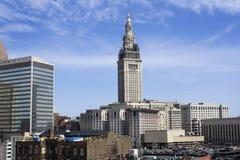 borne limite de Cleveland Photographie stock libre de droits