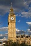 Borne limite de Londres Images libres de droits