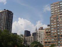 Borne limite de NYC images libres de droits