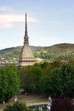Borne limite de Turin photographie stock libre de droits