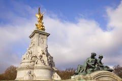 Borne limite de victoire de Londres Image stock