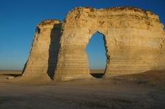 Borne limite du Kansas photos stock