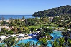 Bornean Hotel Resort Stock Image