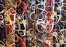 Borneo Batik Royaltyfri Bild