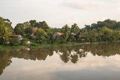 Borneo flod Royaltyfri Foto