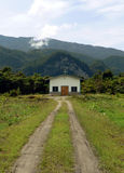 Borneo. Remote Christian Church Stock Photos