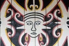 Borneo - Stammes- Kultur des traditionellen Dayak in Indonesien Stockfotos