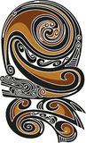 Borneo tattoo pattern Stock Photos