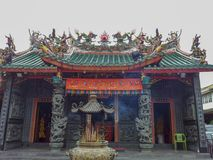 Borneor Kuching Malezja 2013 Chińskich świątyni Fotografia Stock