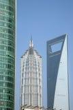 bornes limites Changhaï de ville Image libre de droits