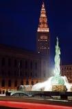 Bornes limites de Cleveland Images libres de droits