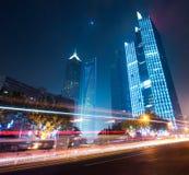 Bornes limites de ville de Changhaï Photos libres de droits