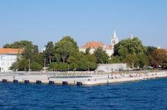 Bornes limites de Zadar Image stock