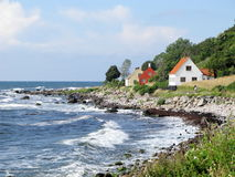 Bornholm Danmark Arkivbilder