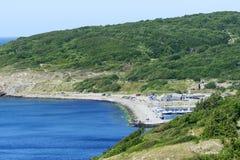 Bornholm-Insellandschaft Lizenzfreie Stockbilder