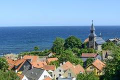 Bornholm island - Gudhjem Stock Photos