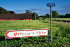 Bornholm island landscape Stock Image