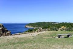 Bornholm island landscape Stock Photo