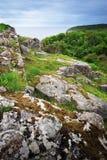 Bornholm island landscape with rocks Royalty Free Stock Images