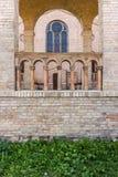 Bornstedt-Kirche-petit groupe-Rueckansicht Image stock