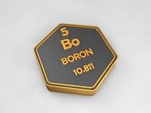 Boro del elemento qumico de la tabla peridica ilustracin del boro bo forma hexagonal de la tabla peridica del elemento qumico foto de archivo urtaz Gallery